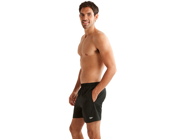 "speedo Solid Leisure 16"" Short de bain Homme, black"